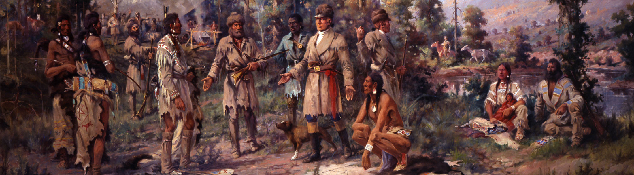 Lewis and Clark + Corps Of Discovery